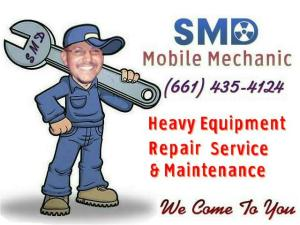 Heavy Equipment Repair and Maintenance Palmdale, CA and Lancaster, CA